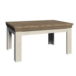 Jedálenský rozkladací stôl, sosna nordická/dub divoký, ROYAL ST