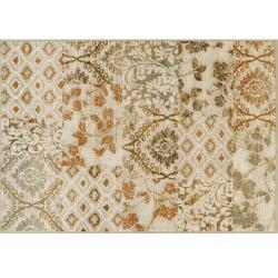 Koberec, viacfarebný, 67x120 cm, TAMARAI