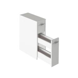 Kúpeľňová skrinka, biela, NATALI TYP 7