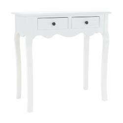 Toaletný stolík/toaletka, biela, WAGNER 2