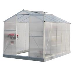 Záhradný skleník, polykarbonát, 190x314x219cm, KACEN TYP 4