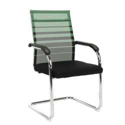 Zasadacia stolička, zelená/čierna, ESIN
