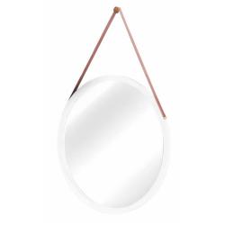 Zrkadlo, bambus biela, LEMI 1