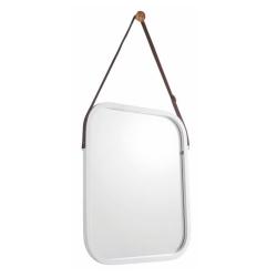 Zrkadlo, bambus/biela, LEMI 2
